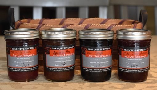 Minnesota Jellies by The Biker Chef of Minnesota