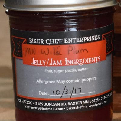 Minnesota Wild Plum Jelly